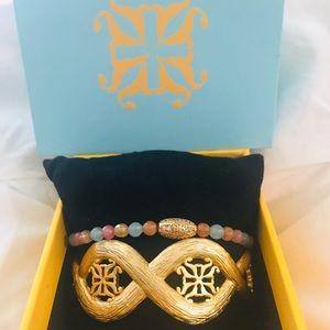 NWOT Rustic Cuff bracelet set